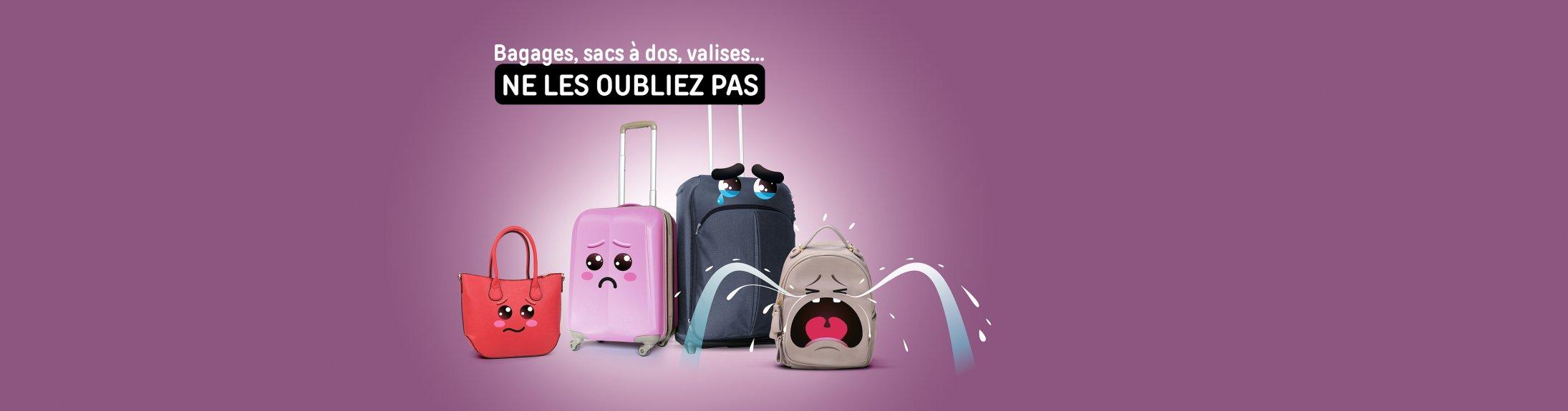 bagages abandonnés